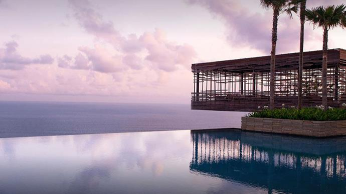"Alila Villas, Uluwatu, Bali <br><br> <strong>Where:</strong> Uluwatu, Southern Bali <br><br> <strong>About:</strong> In the clifftop paradise of Uluwatu, away from the craziness of Seminyak and Kuta, this resort has an infinity pool to trump all infinity pools - not to mention the spacious, award-winning private villas, and some of the world's best surf beaches nearby. <br><br> <strong>Eco-points:</strong> Bali is known for its' communities and local workers, and the resort has supported initiatives that assist the local community. It also has incorporated completely renewable materials into its' construction wherever possible. <br><br> Website: <a href=""https://www.alilahotels.com/uluwatu""></a> <br> Images: Alila Villas Bali"