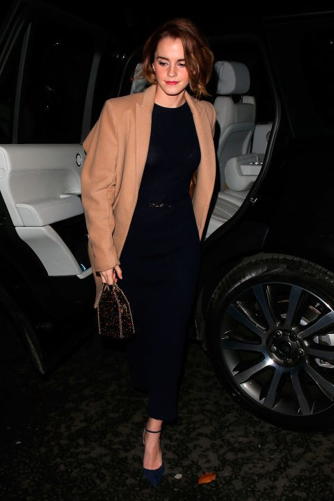 "<p><strong>Gabriela Hearst</strong> <p>Watson called Gabriela Hearst ""absolutely amazing, really sustainable and very smart""—and has supported her from early on in her career (as shown by her wearing a camel coat by the brand, pictured). The designer is a favourite among celebrities and is a name to know for creating a conscious capsule wardrobe. <p>Visit <a href=""gabrielahearst.com"">gabrielahearst.com</a>"