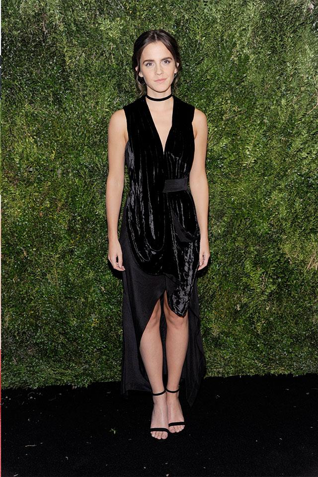 "<p><strong>Kitx</strong> <p>One of Watson's edgiest red-carpet looks of recent times came courtesy of Kit Willow's brand Kitx. The house is built on a belief of ethical, sustainable fashion, but we can say with certainty that there is no compromise on style. ""I strongly believe in a better world, through the simple mantra of making women look and feel beautiful, without harming our planet, so everyone can win,"" Willow says on her website. <p>Visit <a href=""kitx.com.au."">kitx.com.au.</a>"