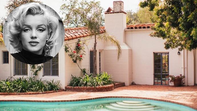 Marilyn Monroe's California house