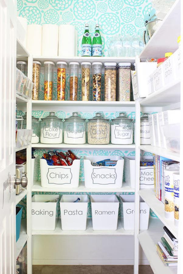 <strong>Pantry Styling and Organisation</strong> <br><br> Think styling your pantry is silly? Think again. Swapping out the packaging your food comes in for reusable containers not only keeps them fresher, but also keeps your cupboard more organised.