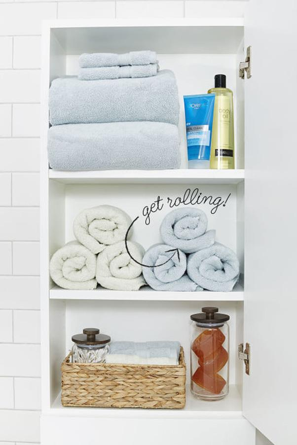 <strong>At-the-Ready Linen Closets</strong> <br><br> While scouring Pinterest for ideas for organising their linen closets, pinners are also searching for ways to make them more convenient for guests to use.