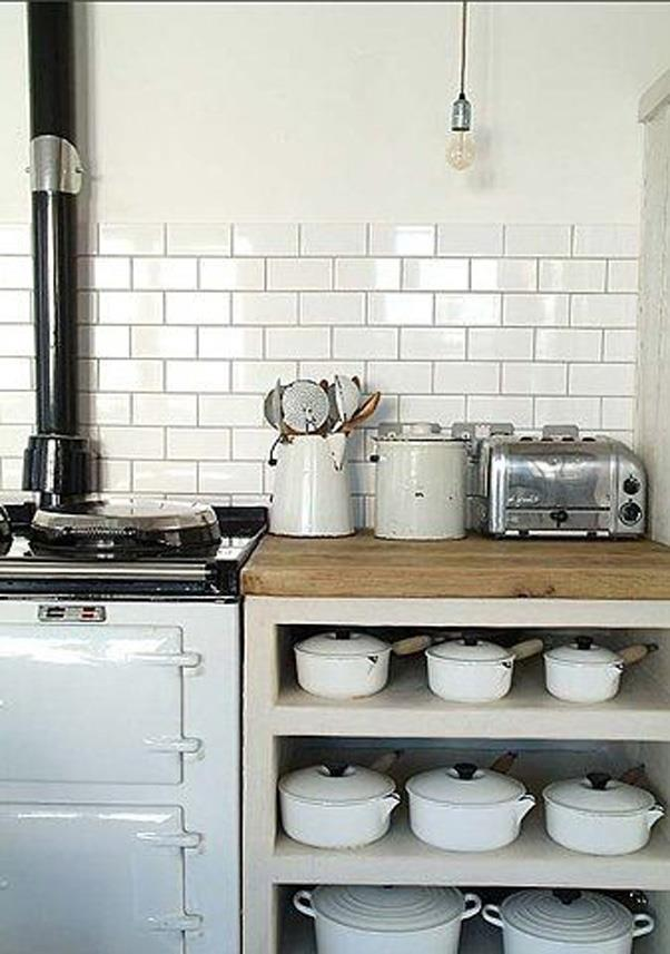 <strong>Cast Iron Cookware</strong> <br><br> Looking for attractive cookware to display on the open-shelving you installed last year? Cast-iron is the way to go, according to Pinterest.