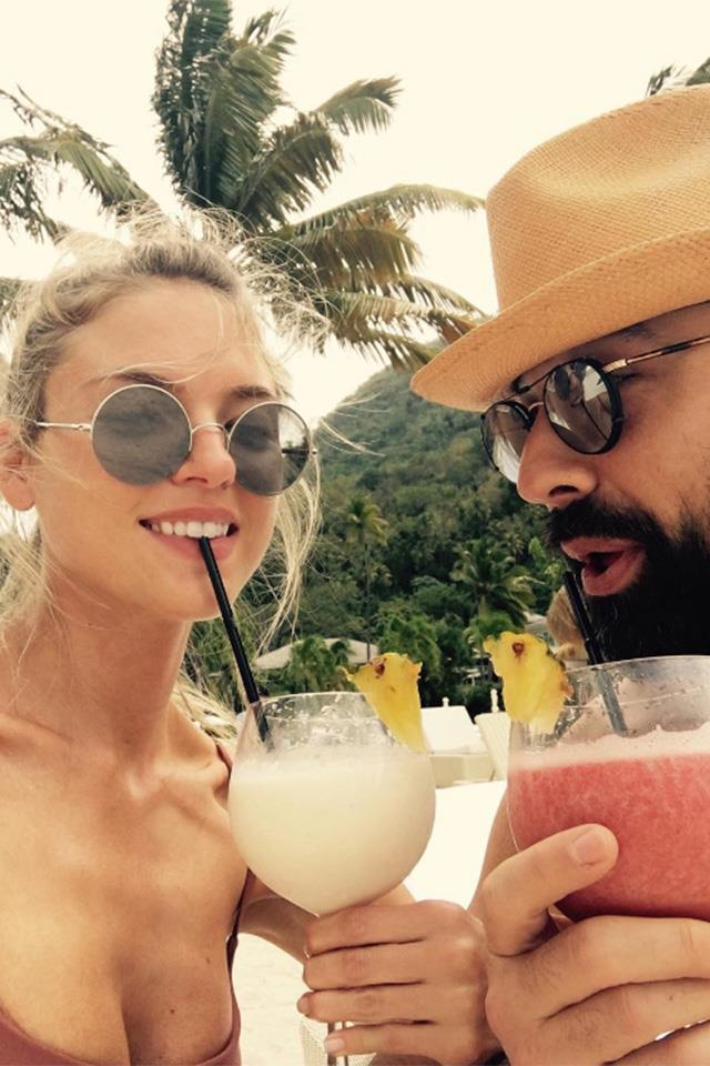 """<strong>Saint Lucia</strong> <br> <br> Martha Hunt just told us she's """"not leaving"""" Sugar Beach, A Viceroy Resort, located on the island of St Lucia, in the eastern Caribbean Sea. <br> <br> <a href=""""https://www.instagram.com/marthahunt/?hl=en"""">@Marthahunt</a>"""