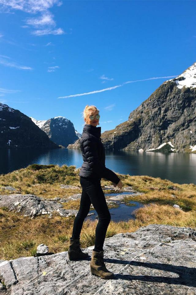 """<strong>Queenstown, New Zealand</strong> <br> <br> Rosie Huntington Whiteley enjoyed an adventure-filled trip to Queenstown late last year with her fiancee Jason Stratham. <br> <br> <a href=""""https://www.instagram.com/p/BLRxl8kglKT/?hl=en&taken-by=rosiehw"""">@Rosiehw</a>"""
