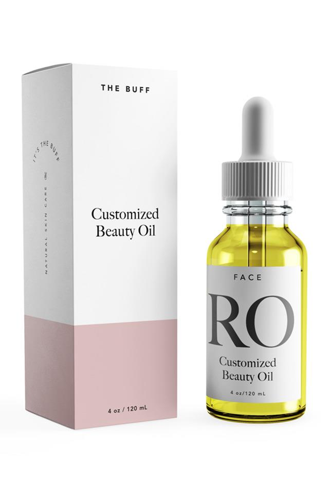 """<strong>The Buff personalised facial oils</strong> <br> <br> Wellness and beauty writer Jasmine Garnsworthy was inspired to develop her own customisable skincare line after experiencing chronic acne, then treating it with organic, cold-pressed and unrefined skincare ingredients . The all-natural range includes body oils and personalised face oils that are targeted to individual skin concerns—be it acne, redness, dryness or fine lines. Once hand-blended, the products are packaged with a monogrammed label. Too cute. <br> <br> The 120ml oils will are available for purchase on the brand <a href=""""null""""><a href=""""www.itsthebuff.com"""">website</a></a> for $36 USD, and $10 shipping is now available within Australia. <br> <br> <em>Supplied</em>"""