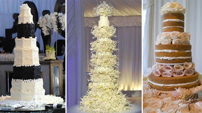 These are some of our favourite celebrity wedding cakes.