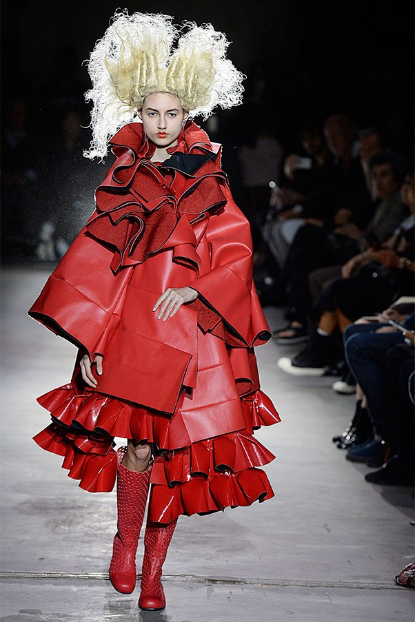 """Comme des Garçons is a gift to oneself, not something to appeal or to attract the opposite sex."""
