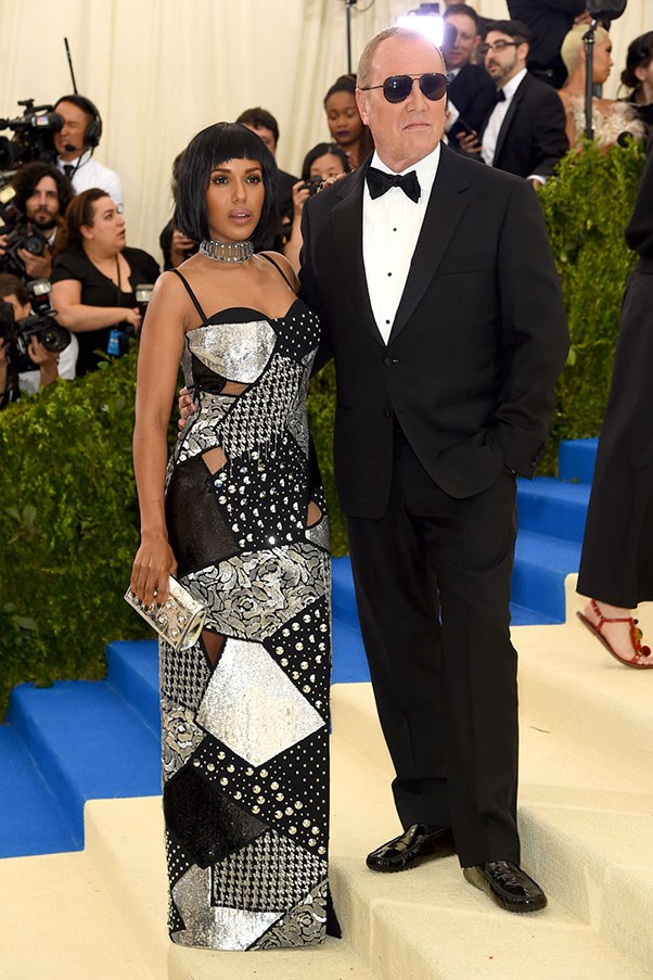 Kerry Washington in Michael Kors with Michael Kors