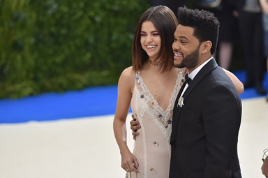 Selena Gomez And The Weeknd Made Their Red Carpet Debut At The Met Gala