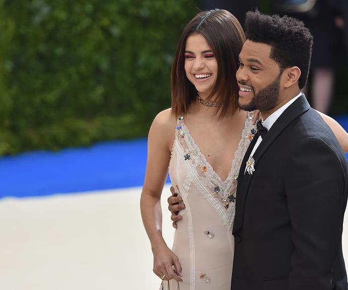 Selena Gomez and The Weeknd Met Gala 2017