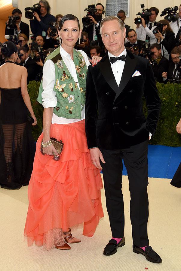Jenna Lyons and Paul Feig