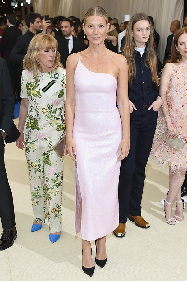 """<strong>Gwyneth Paltrow in Calvin Klein by Appointment</strong><br><br> """"This has also really grown on me over the morning. I love the colour and how the dress so finely sculpts her body."""" - Caroline Tran, junior fashion editor"""