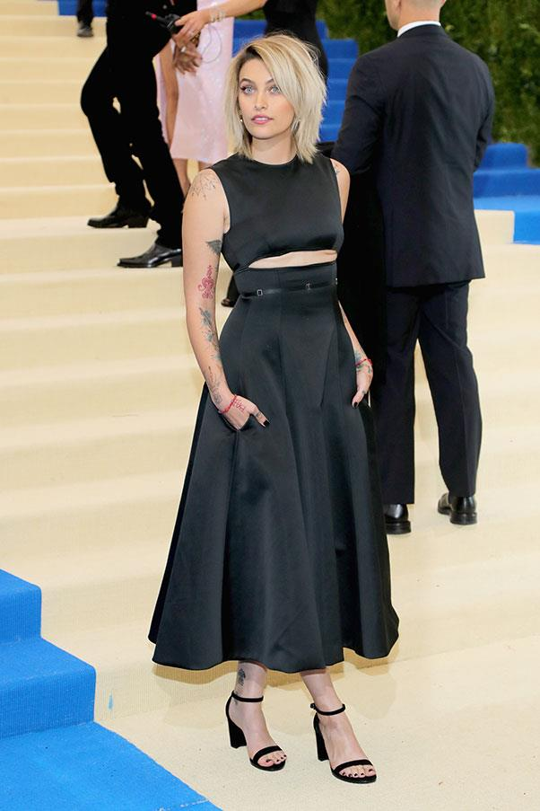 Paris Jackson in Calvin Klein by Appointment and Tiffany & Co. jewellery