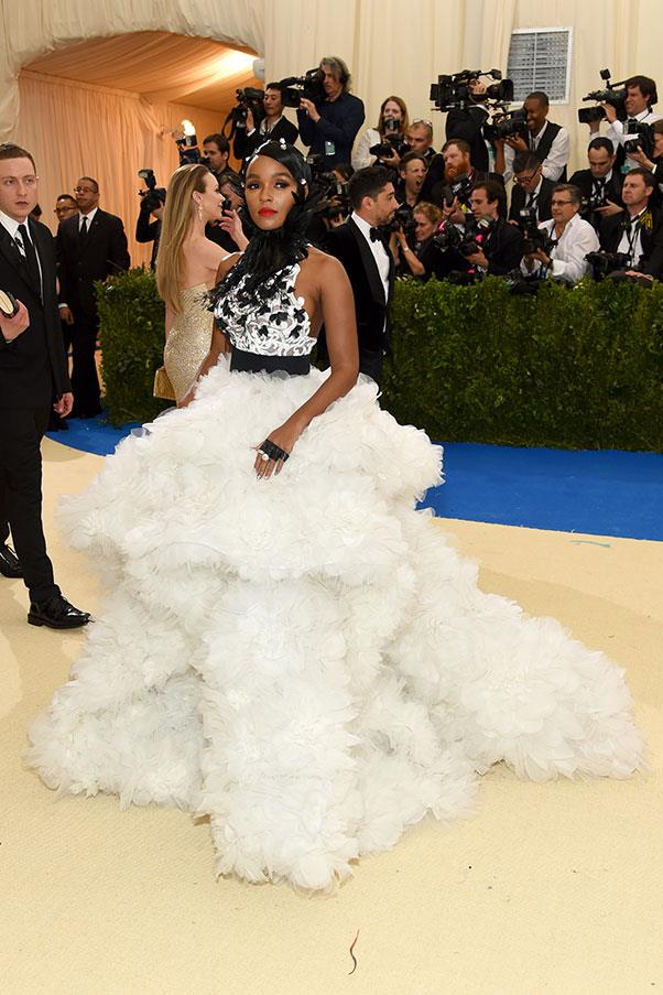 Janelle Monae in Ralph & Russo and Tiffany & Co. jewellery