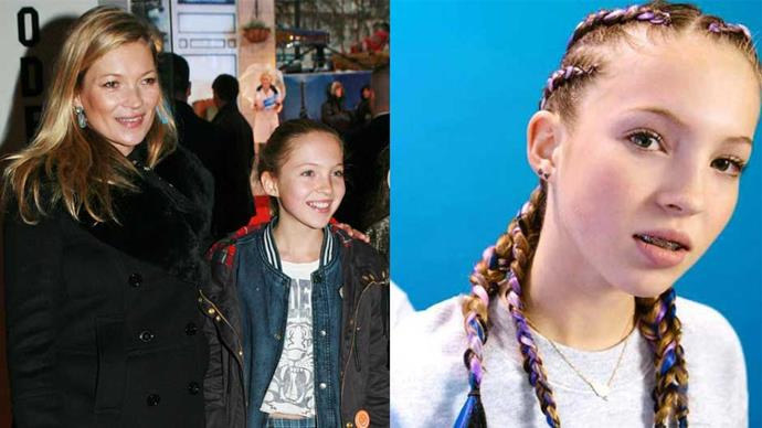 <strong>Lila Grace Moss</strong> <br><br> <strong>Celebrity parentage:</strong> Daughter of Kate Moss and Jefferson Hack.<br><br> <strong>Her deal:</strong> The 14-year-old is following in the footsteps of her iconic model mother, landing her first campaign as the face of Braid Bar. <br><br>