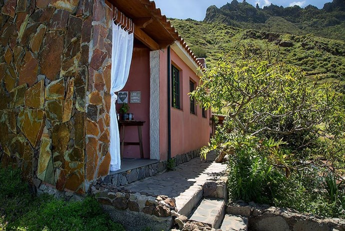 <strong>2. Tenerife, Canary Islands:</strong> According to AirBnb, it's just a quick walk to the beach from this cottage in the Canary Islands.