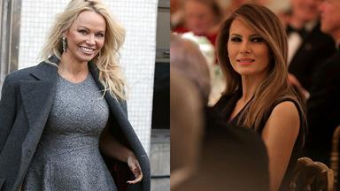 Pamela Anderson May Have Inspired Melania Trump To Go Fur Free