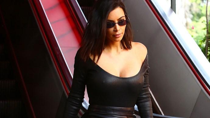 Kim Kardashian Off Duty Style