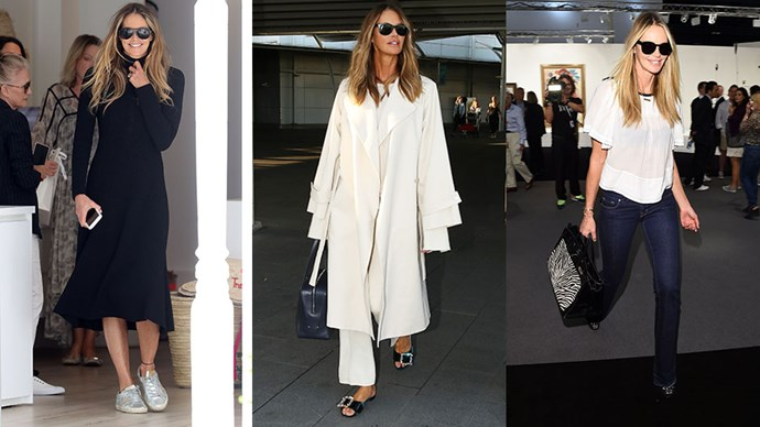 We celebrated our June/July cover girl Elle Macpherson's best off-duty supermodel style.
