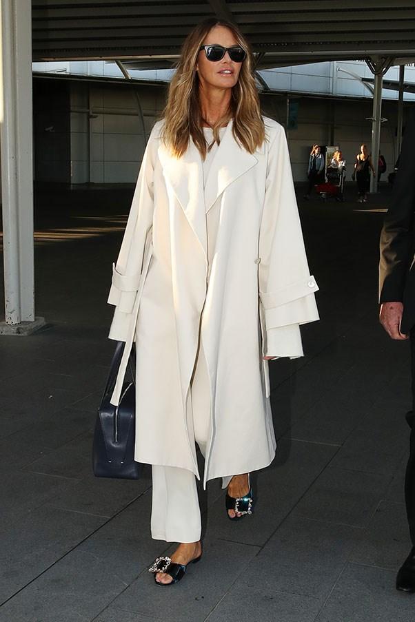 Arriving at Sydney airport, September 2016.