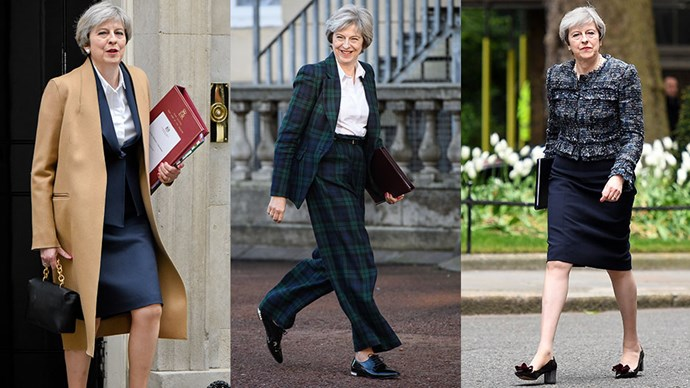 Since taking over as Prime Minister last year, Theresa May has gone about her difficult job while dressing in an increasingly sophisticated wardrobe. Here, we document her prime ministerial style.