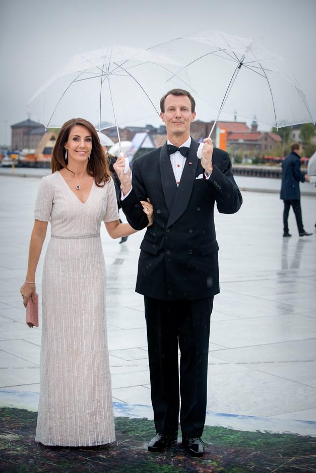 Princess Marie of Denmark, in Rikke Gudnitz, and Prince Joachim.