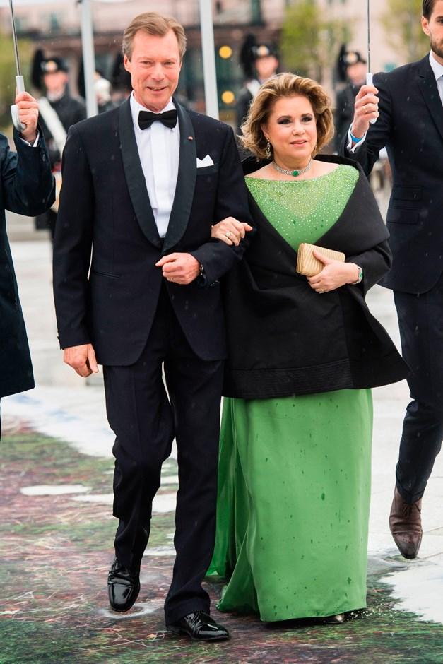 Grand Duchess Maria Teresa of Luxembourg.