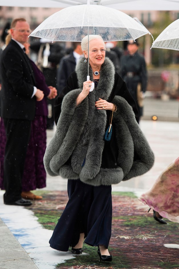 Queen Margrethe of Denmark.