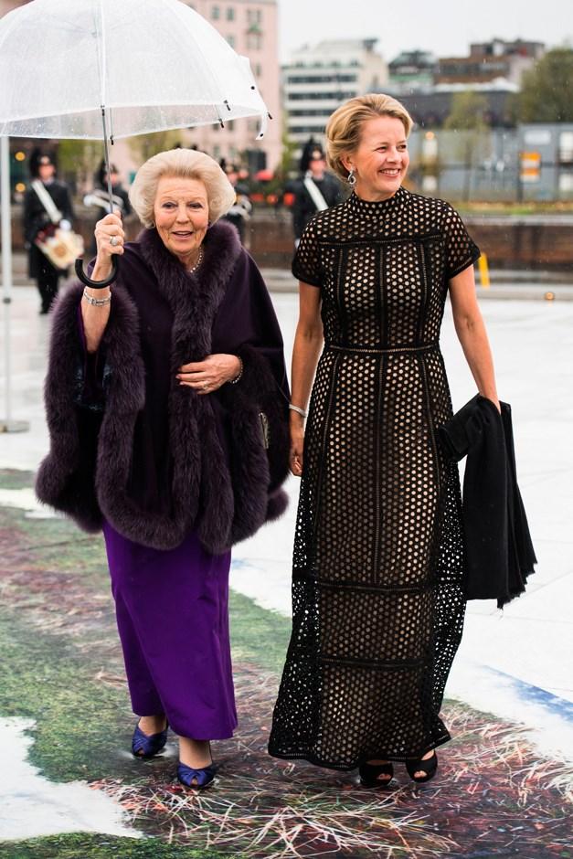 Princess Beatrix of Netherlands and Princess Mabel of Oranien-Nassau.