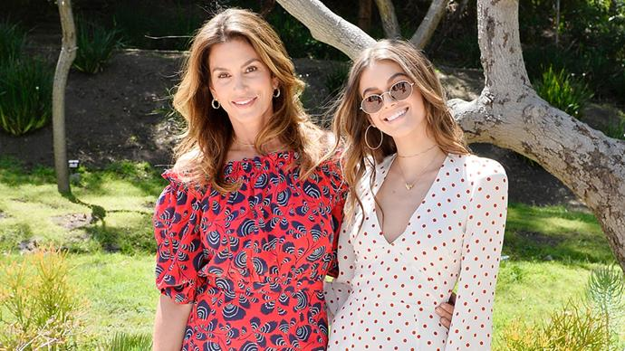 Cindy Crawford and Kaia Gerber held a chic Mother's Day brunch in Malibu today, with celebrity guests including Molly Sims, Reese Witherspoon and Vanessa Hudgens in attendance.<br><br> The mother-daughter duo hosted the event on behalf of Best Buddies International, a non-profit organisation dedicated to ending the social, physical and economic isolation of over 200 million people living with a disability. The brunch featured cocktails, live performances, kids activities and an awards ceremony.<br><br> Crawford and Gerber wore complementing outfits, with Crawford opting for a red off-the-shoulder number and Gerber slinging a YSL bag over her polkadot playsuit.<br><br> Click through to see all the action from the day!