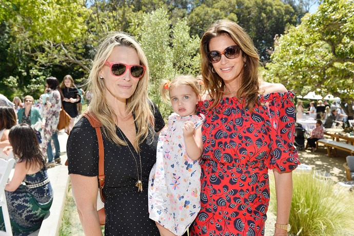 Molly Sims and Cindy Crawford