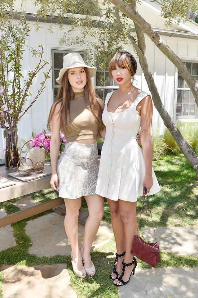 Amanda Cerny and Jackie Cruz