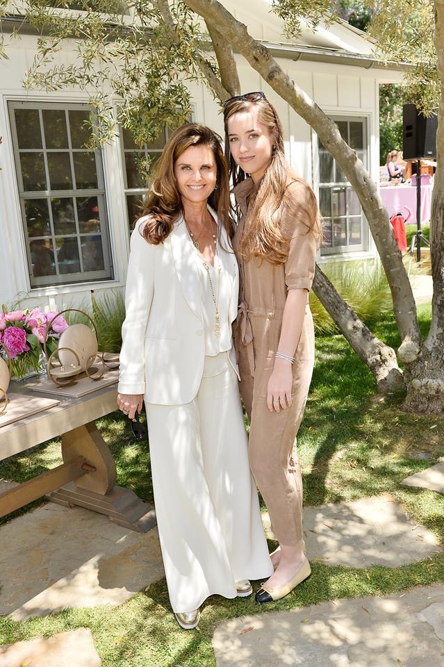 Maria Shriver and Christina Schwarzenegger