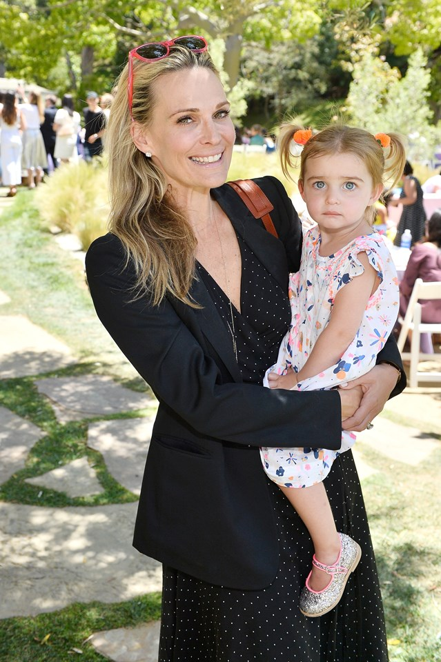 Molly Sims and daughter