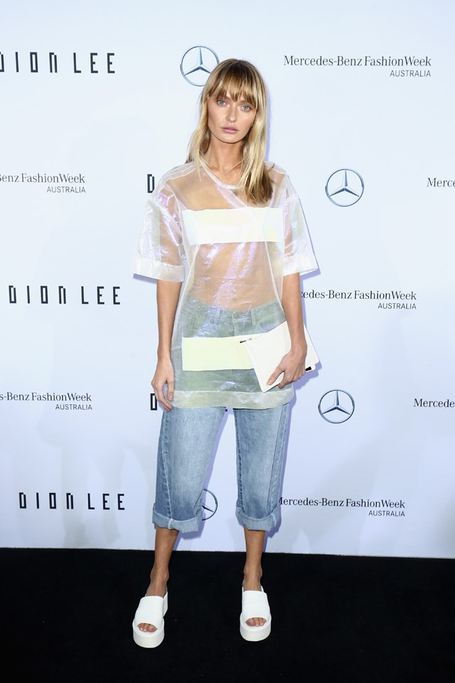 <strong>Dion Lee</strong> <br><br> Annabella Barber