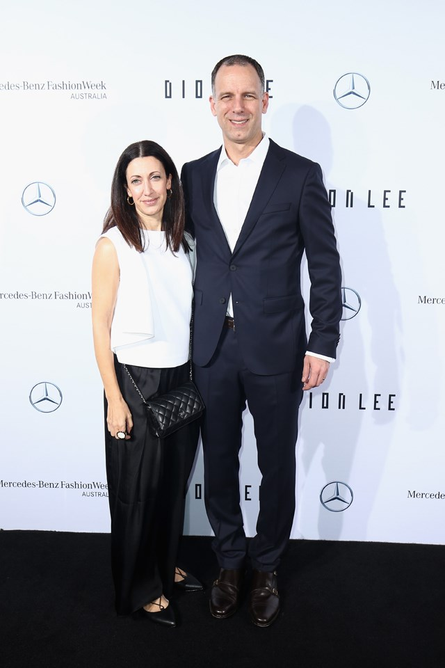 <strong>Dion Lee</strong> <br><br> Marianna Nomikos and Jason Nomiko