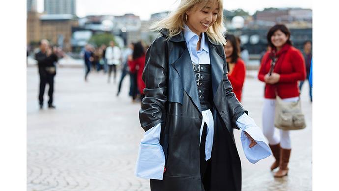 "Margaret Zhang<br><br> Image: <a href=""http://www.stylesnooperdan.com/"">Stylesnooperdan</a>"