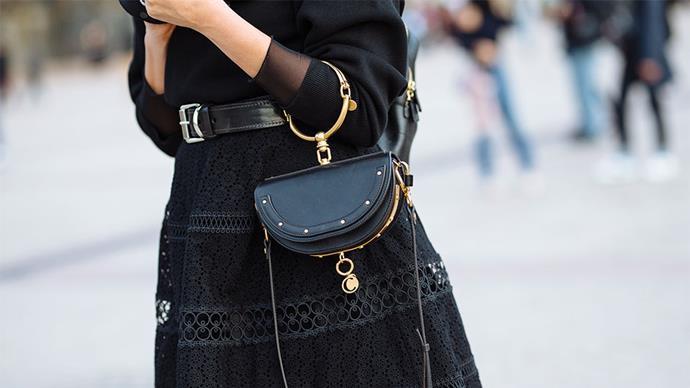 "Chloé bag<br><br> Image: <a href=""http://www.stylesnooperdan.com/"">Stylesnooperdan</a>"