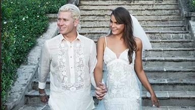 Australia's Most Memorable Celebrity Wedding Dresses