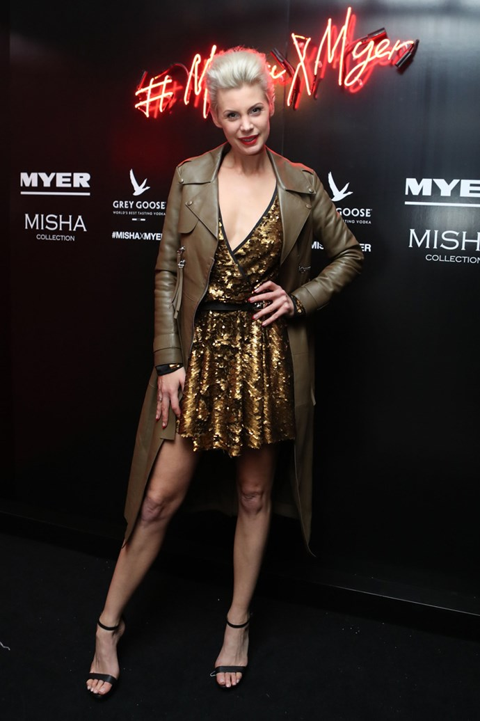 Kate Peck at the Misha Collection and Myer party at Bondi Icebergs.