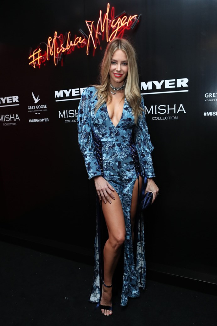 Jennifer Hawkins at the Misha Collection and Myer party at Bondi Icebergs.