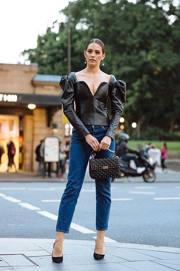 Street Style Australian Fashion Week Harper 39 S Bazaar