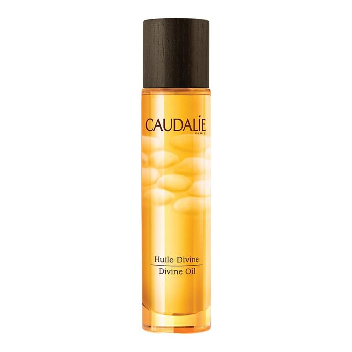"<strong>Caudalie Divine Oil</strong> <br> <br> Another multi-tasking oil, the Caudalie Divine Oil can be applied to the face, body or hair for a hit of moisture. Oh, and did we mention it smells like a dream? <br> <br> <em>Caudalie Divine Oil, $54 at <a href=""https://www.sephora.com.au/products/caudalie-divine-oil-50ml"">Sephora</a></em>"