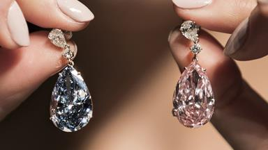 The World's Most Expensive Earrings Just Sold For $77.24 Million