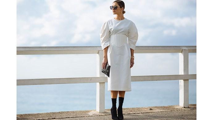 "Kate Waterhouse<br><br> Image: <a href=""http://www.stylesnooperdan.com/"">Stylesnooperdan</a>"