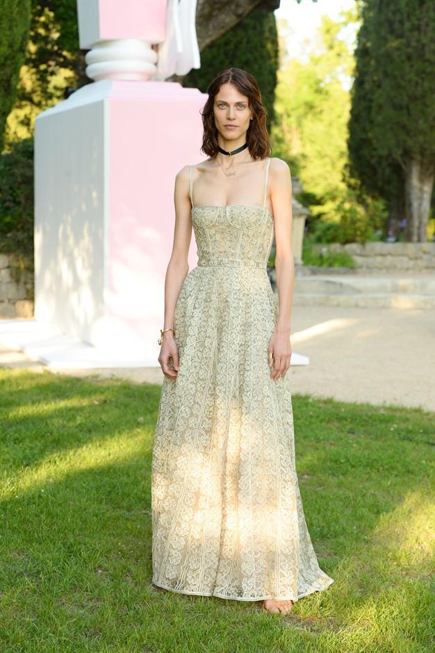 Amyline Valade at the Miss Dior Eau de Parfum launch.