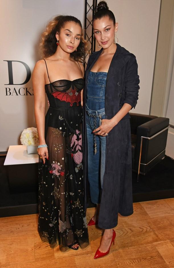 Ella Eyre at the launch of Dior's Pump 'N' Volume Mascara.