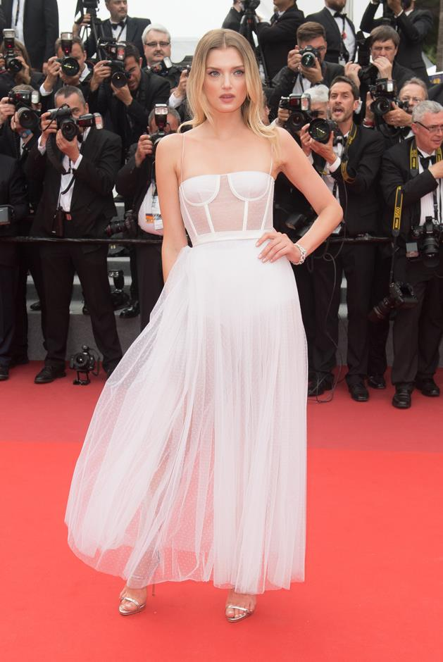 Lily Donaldson at the Cannes Film Festival.