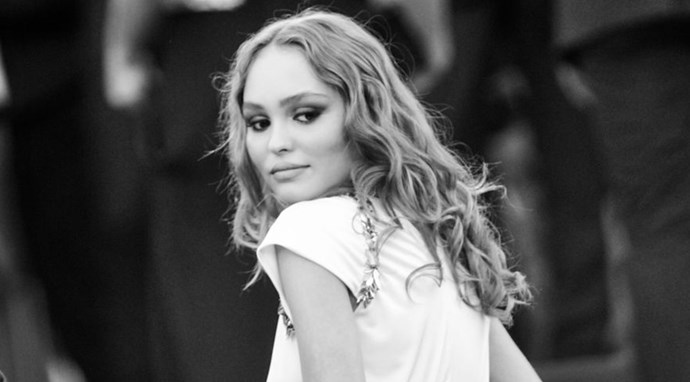 Lily-Rose Depp beauty look at Canne Film Festival